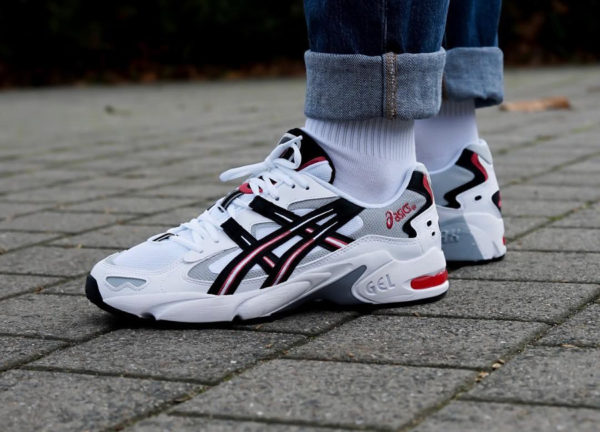 Asics Gel Kayano 5 OG 'White Black Red' 2018 (1191A176-101)