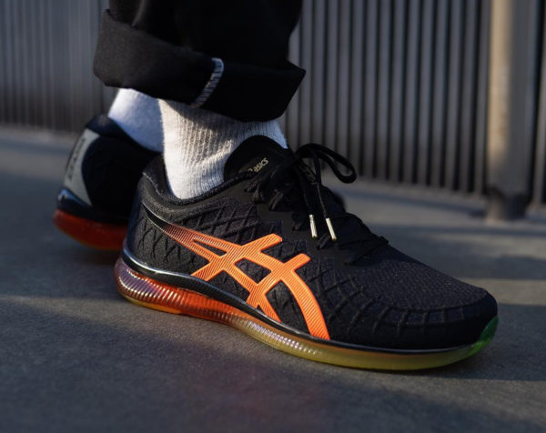 Asics Gel Quantum Infinity Black Shocking Orange (2)
