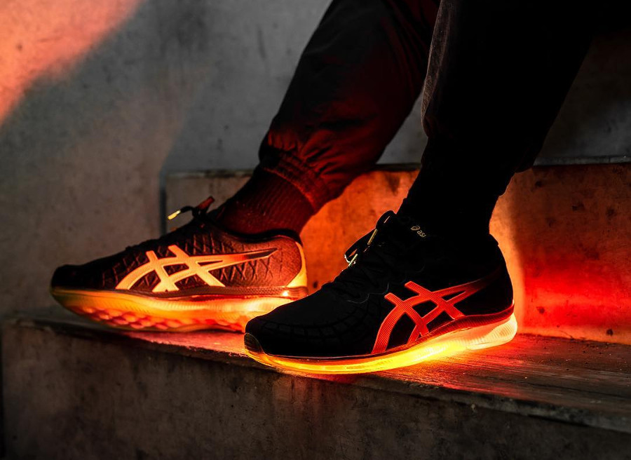 Asics Gel Quantum Infinity 'Black Shocking Orange'