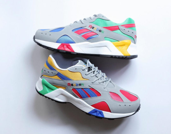 Billy's x Reebok Aztrek 'Multicolor' Grey Cobalt Big Green (1)