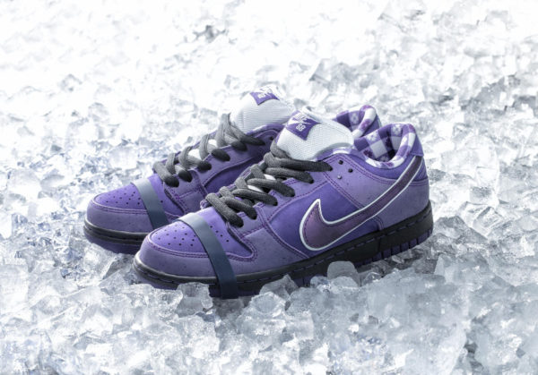 Cncpts x Nike Dunk Low Pro SB homard violet (2)