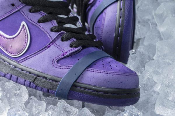 Cncpts x Nike Dunk Low Pro SB homard violet (3)