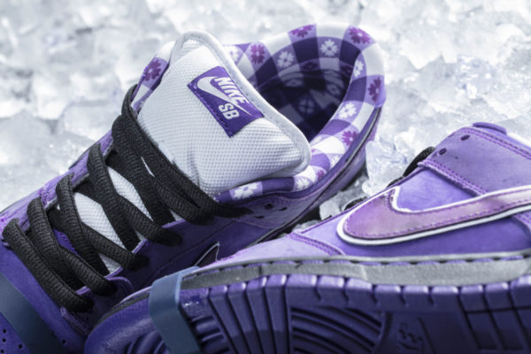 Cncpts x Nike Dunk Low Pro SB homard violet (4)