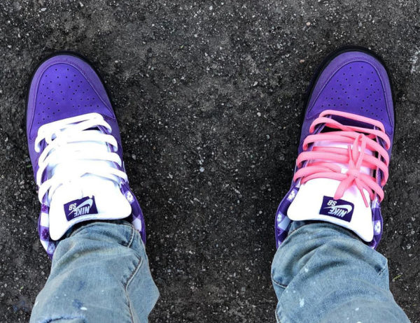 Concepts x Nike Dunk Low Pro SB 'Purple Lobster' on feet (1)