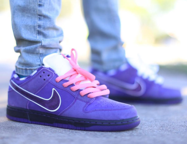 Concepts x Nike Dunk Low Pro SB 'Purple Lobster' on feet (2)