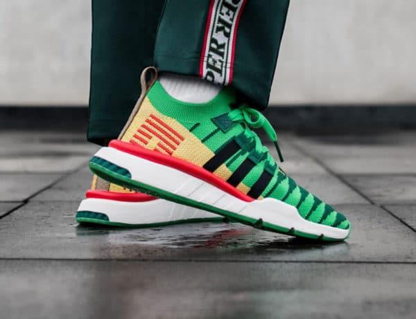 Avis] Adidas EQT Support Mid ADV DBZ Shenron Green & Super