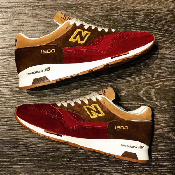 New Balance M 1500 RNR Brown Red 'Holiday Pack' (made in England) (1)