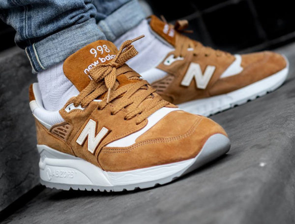 New Balance M 998 TTC  saim marron pour homme on feet  (3)