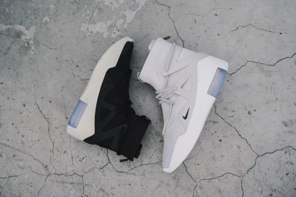 Nike Air Fear Of God 1 'Light Bone & Black'