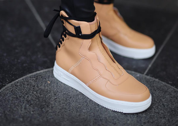 Nike Air Force 1 AF1 Rebel XX Beige Praline Summit White (couv)