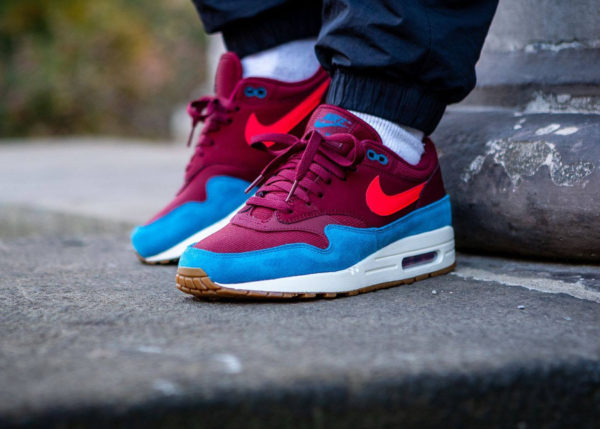 Nike Air Max 87 homme Team Red Orbit Green Abyss (3)