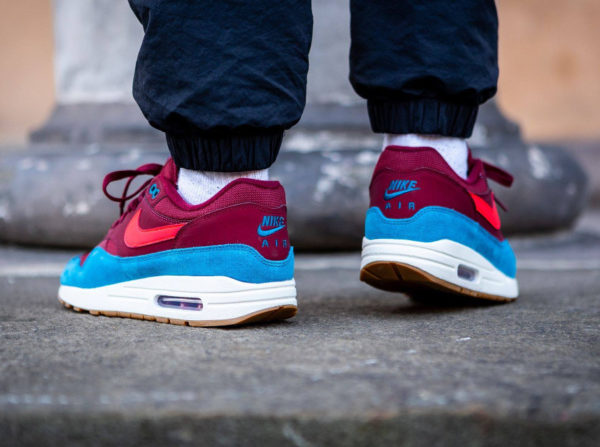 Nike Air Max 87 homme Team Red Orbit Green Abyss (4)