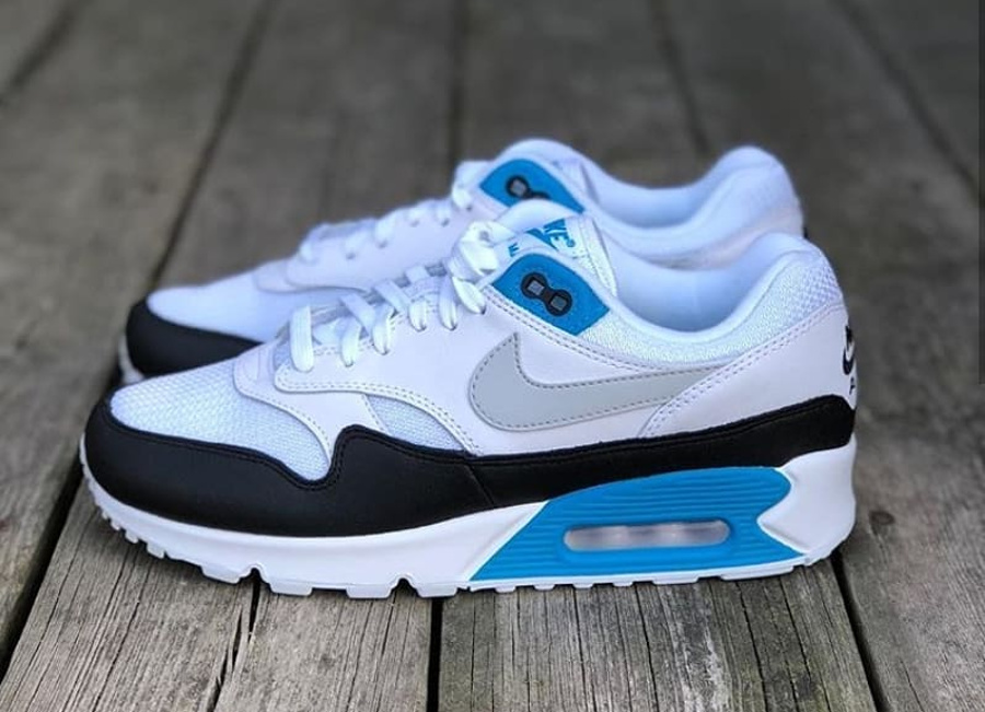 Nike Air Max 90 1 homme Laser Blue pas cher
