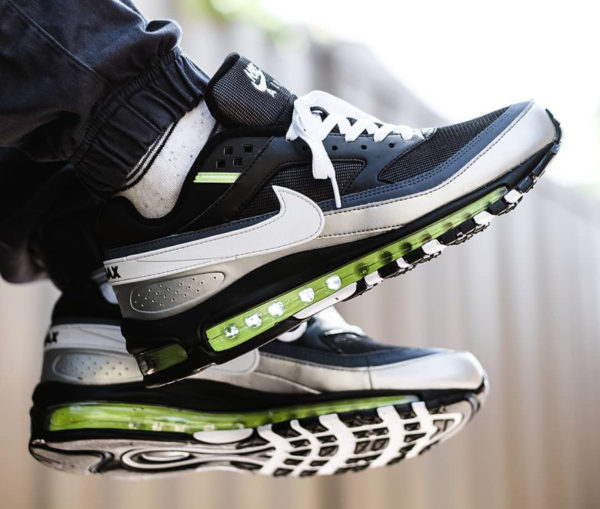 Nike Air Max 97 x AM BW Black Neon (3)