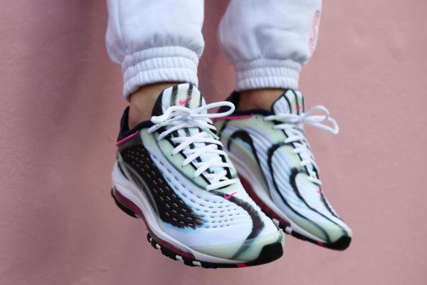 Nike Air Max Deluxe Green Enamel en promo (4-1)