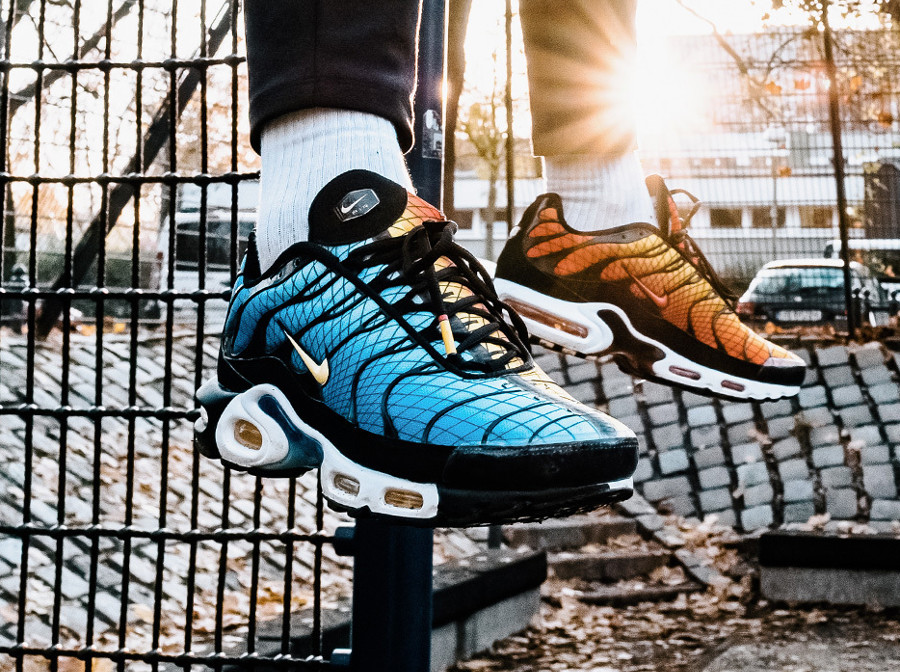 Nike Air Max Plus OG 'Greedy' Hyper Blue x Sunset