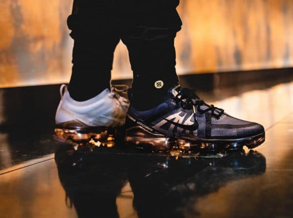 Nike Air Vapormax 2019 Nexkin 'Black & White Metallic Gold'