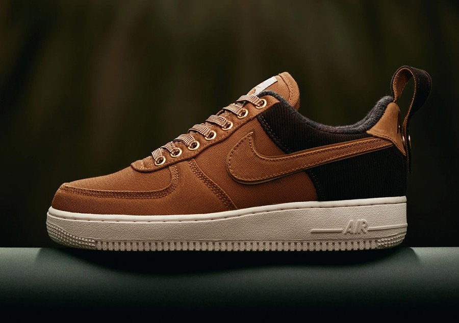 Nike Carhartt Air Force One basse 2018 Ale Brown (2)