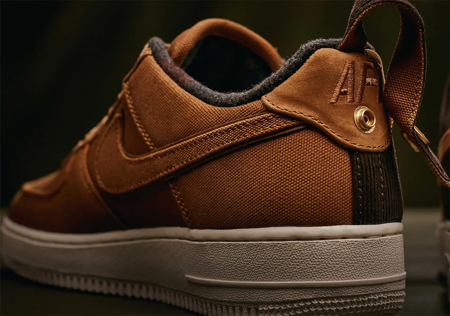 Nike Carhartt Air Force One basse 2018 Ale Brown (3)