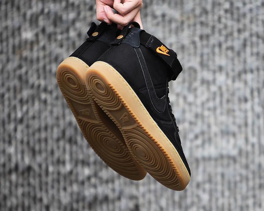 Nike Carhartt Vandal Hi en toile noire pour homme (1)
