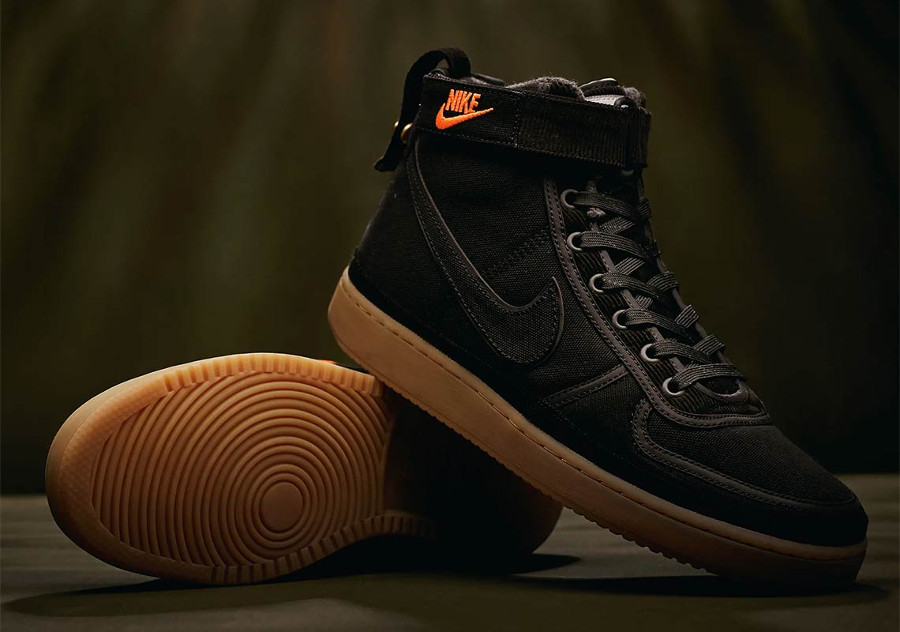 Nike Carhartt Vandal Hi en toile noire pour homme (2)