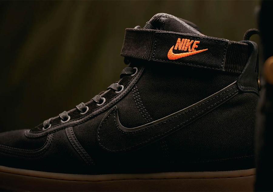Nike Carhartt Vandal Hi en toile noire pour homme (3)
