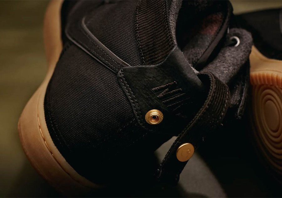 Nike Carhartt Vandal Hi en toile noire pour homme (4)