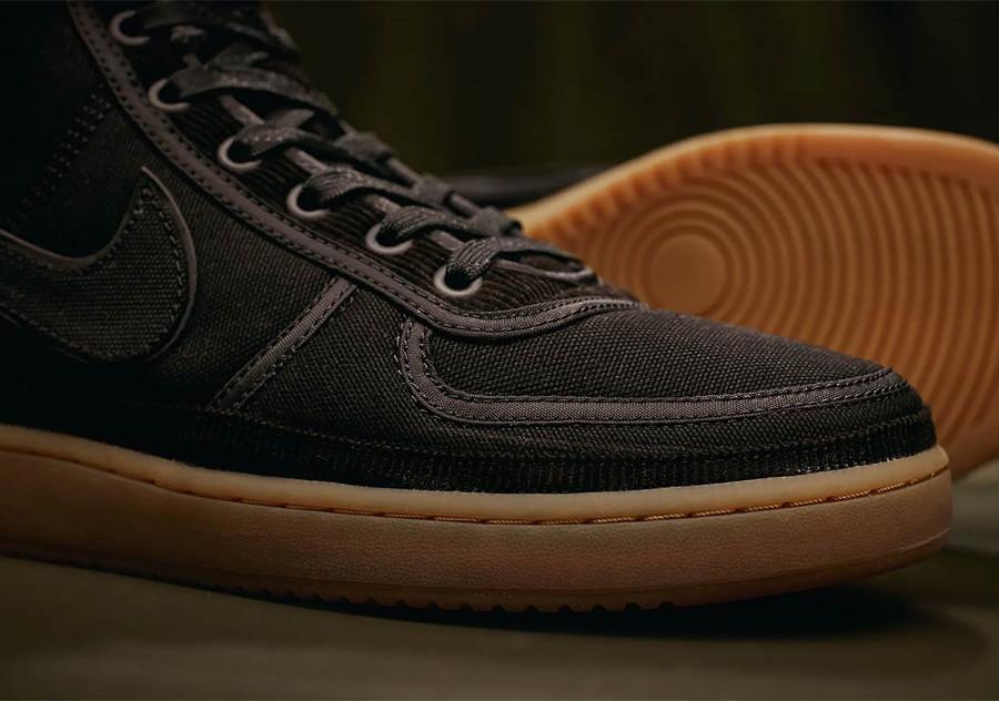 Nike Carhartt Vandal Hi en toile noire pour homme (5)