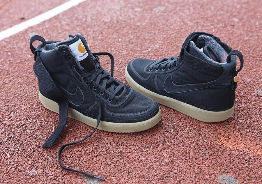 Nike Carhartt Vandal Hi en toile noire pour homme (6)