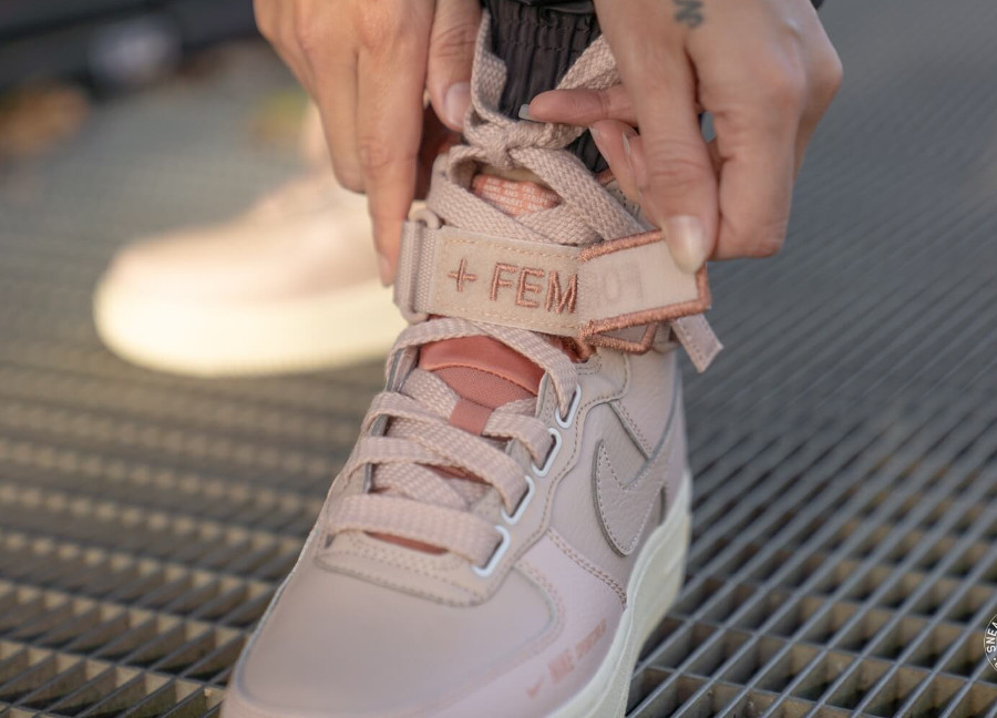 AvisNike Wmns 1 Air Beige' High 'particle Utility Force Rose fIgb6yvY7