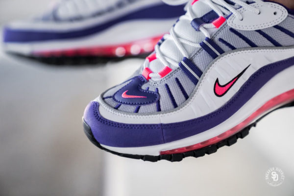Nike Womens Air Max 98 White Racer Pink (2)