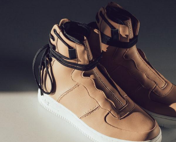 Nike wmns AF1 Rebel XX tan (2)