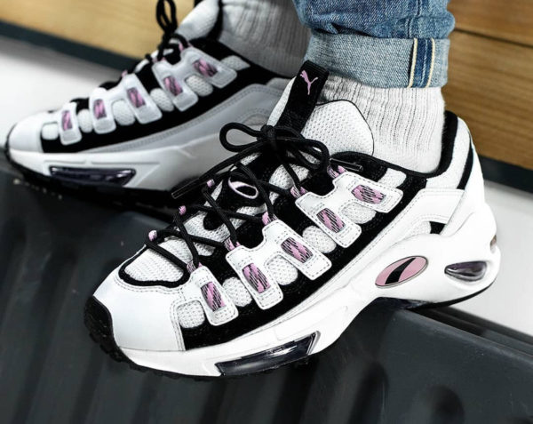 Puma Cell Endura W blanche et rose White Pale Pink (3)