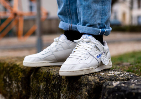 Reebok Workout Plus 1987 TV Beige Chalk Paperwhite Royal