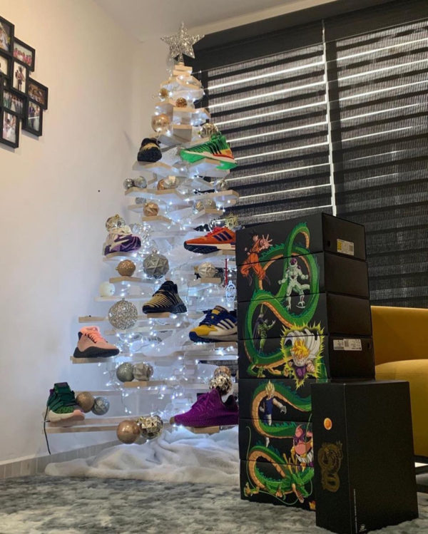 Sapin Adidas Dragon Ball Z - @pablortm