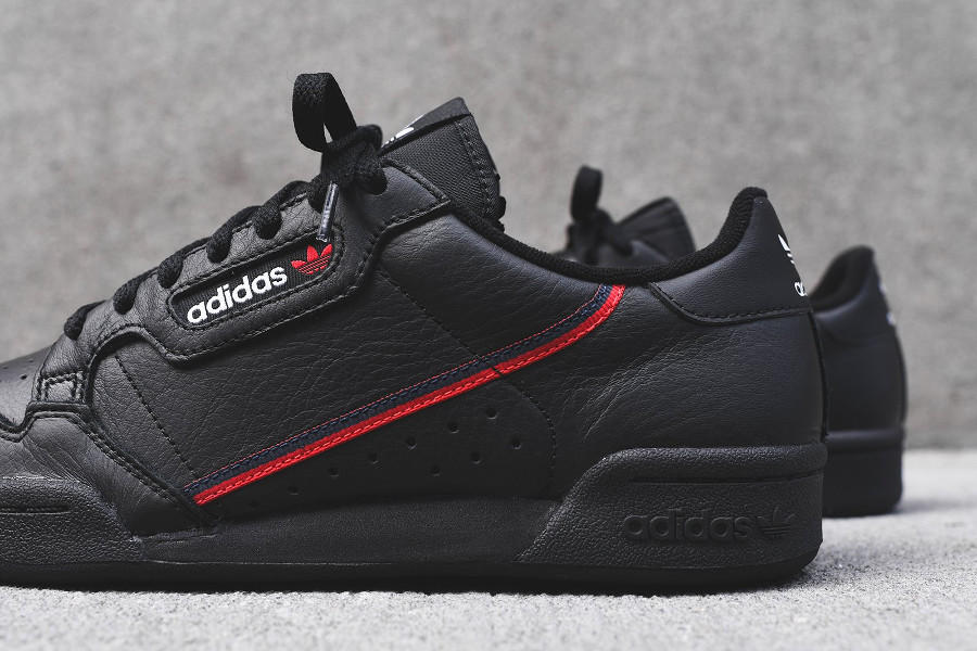 Adidas Continental 80 Rascal 'Black Red' (2)