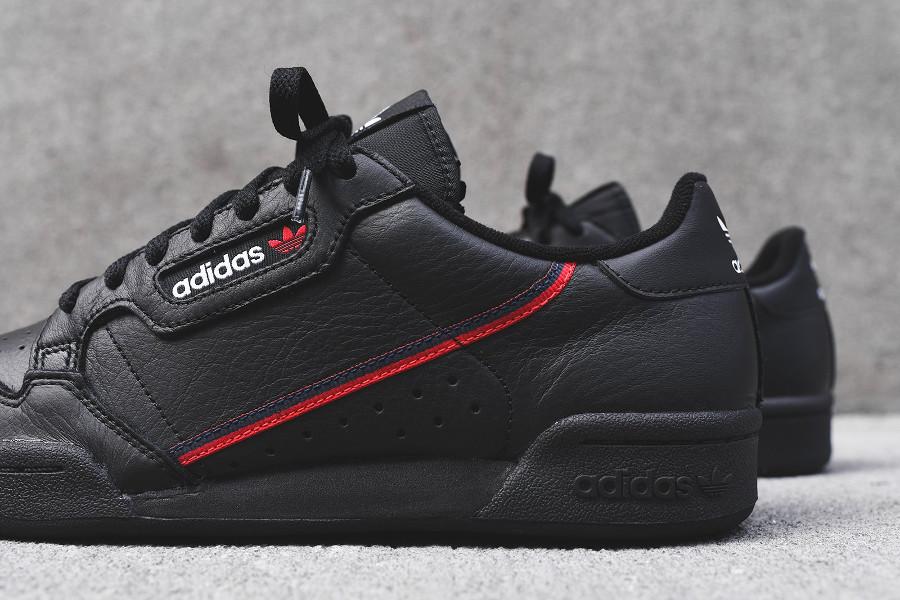 Adidas Continental 80 Rascal 'Black Red' (2)