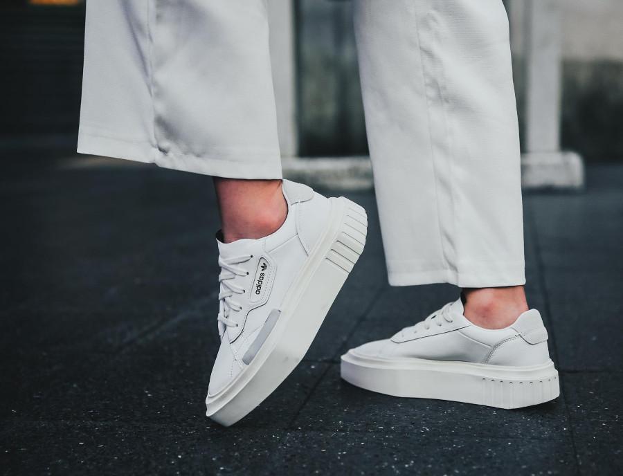 Avis : Adidas Hypersleek W blanche Ftwr White Off White (G54050)