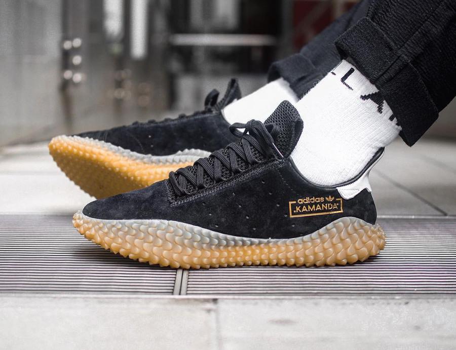 Adidas Kamanda Core Black Gold