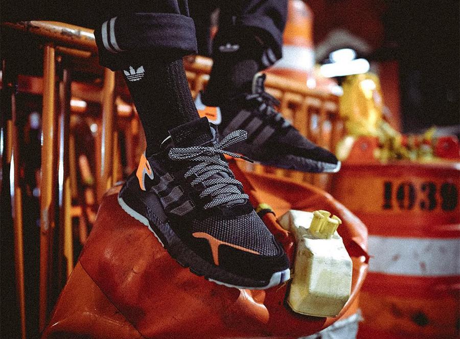 Adidas Nite Jogger Boost 2019 Reflective Core Black
