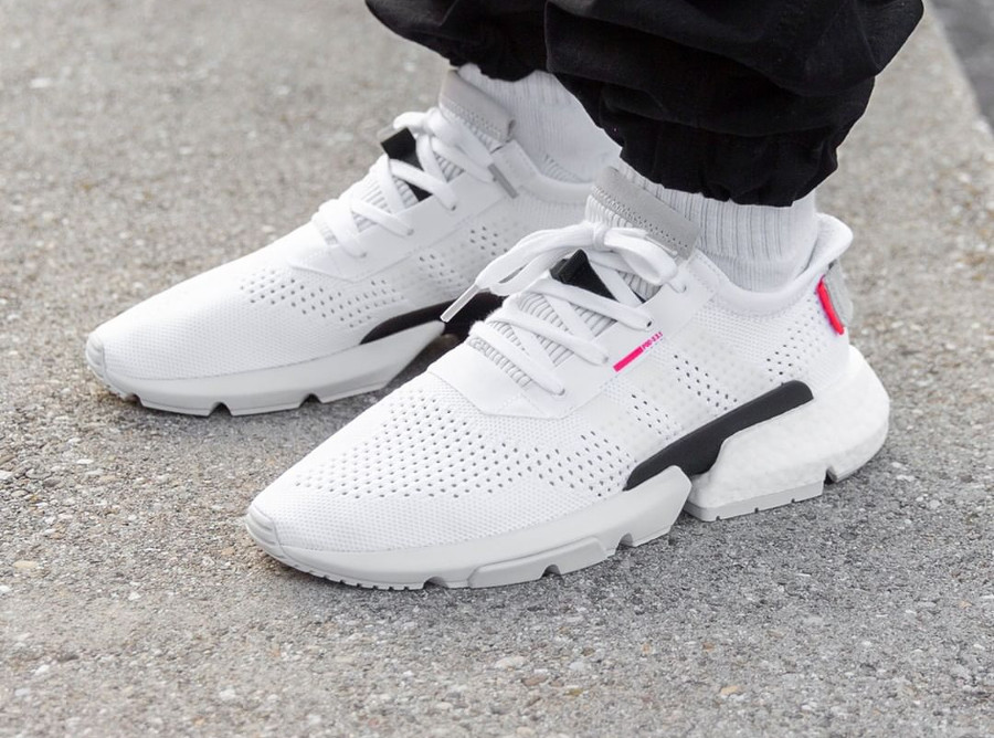 Adidas POD-S3.1 'Ftwr White Shock Red'