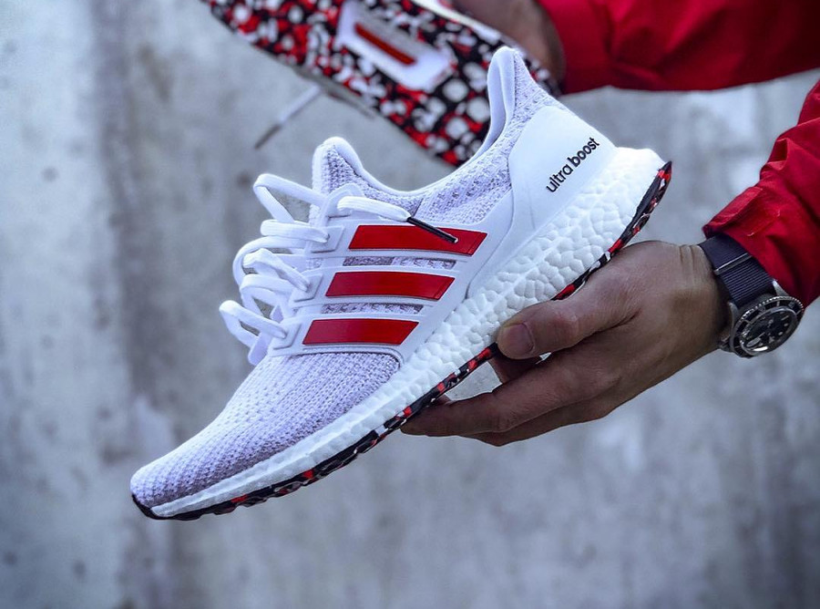 Adidas Ultra Boost 4.0 'White Active Red'