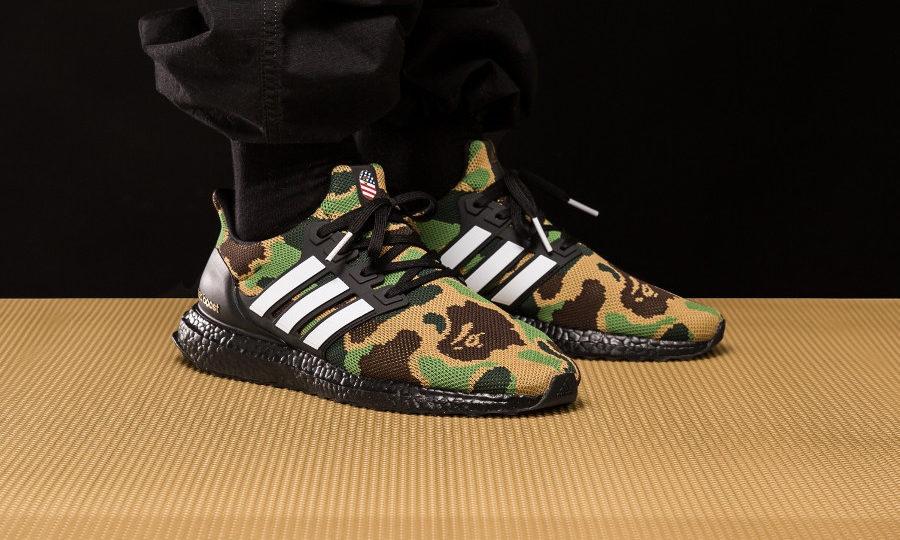 Adidas Ultra Boost Bape Camo Superbowl 2019