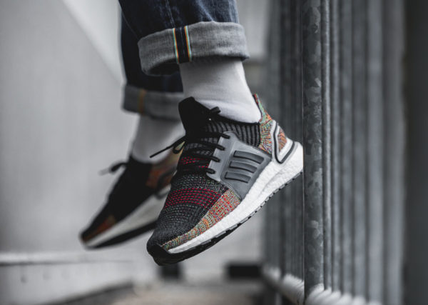 Adidas UltraBoost 2019 Grey Six noire multicolore (3)
