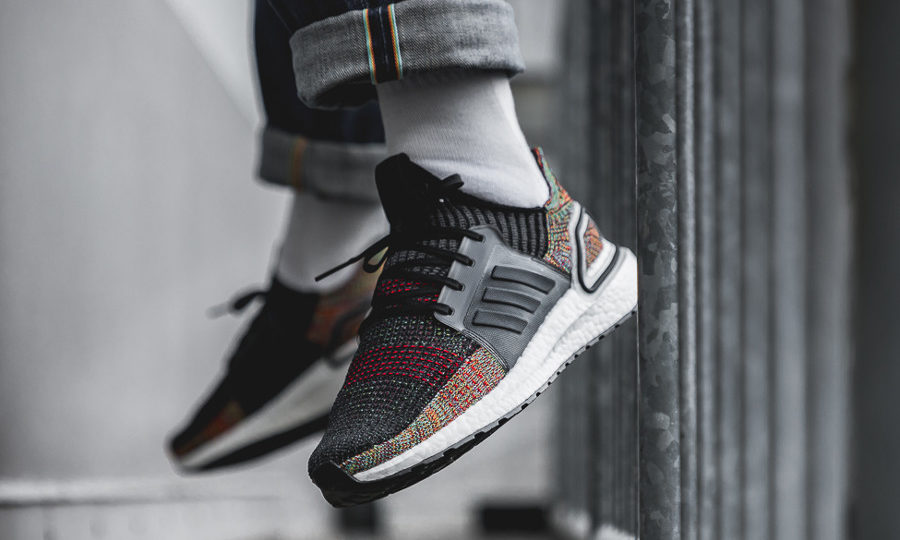Adidas UltraBoost 2019 Grey Six noire multicolore (3)