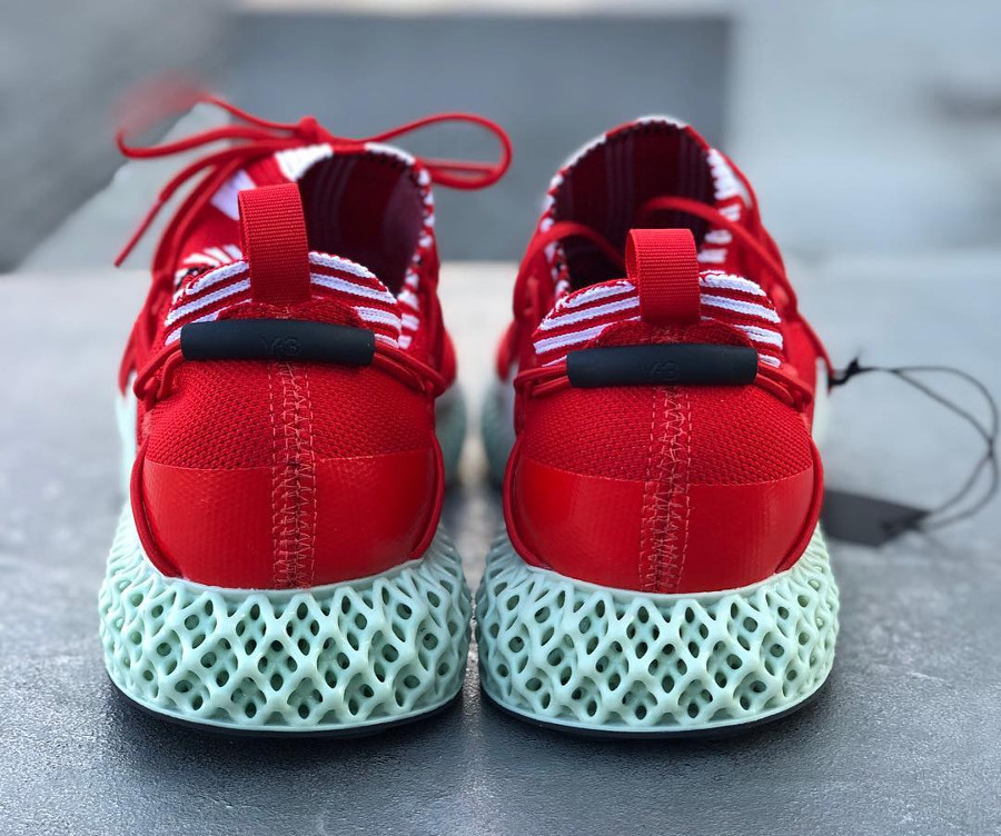 Adidas Y-3 Futurecraft 4D 'Red Aero Green' (4)