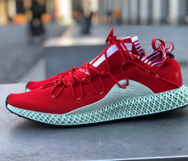 Adidas Y-3 Futurecraft 4D 'Red Aero Green' (5)