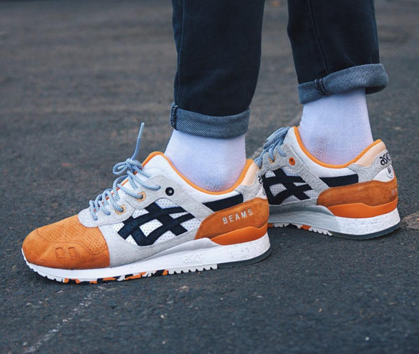 Afew x Beams x Asics Gel Lyte 3 Orange Koi - @nuin.nt
