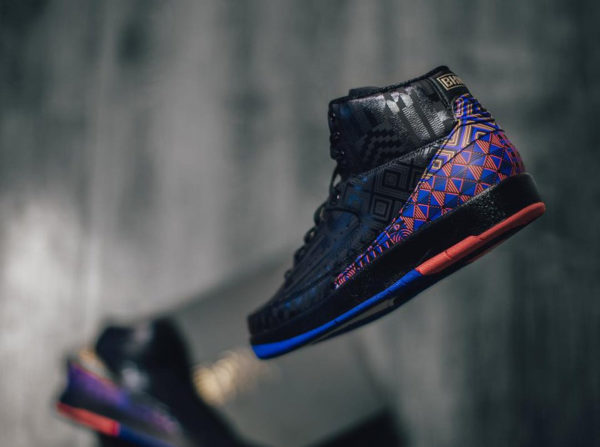 Air Jordan 2 Retro BHM 2019 'Kente'