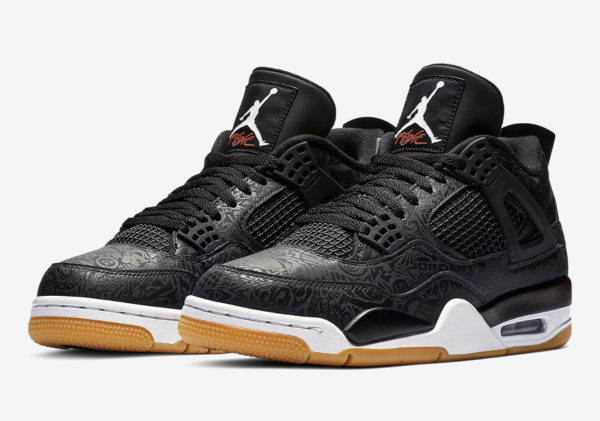 Air Jordan 4 Retro Black Laser